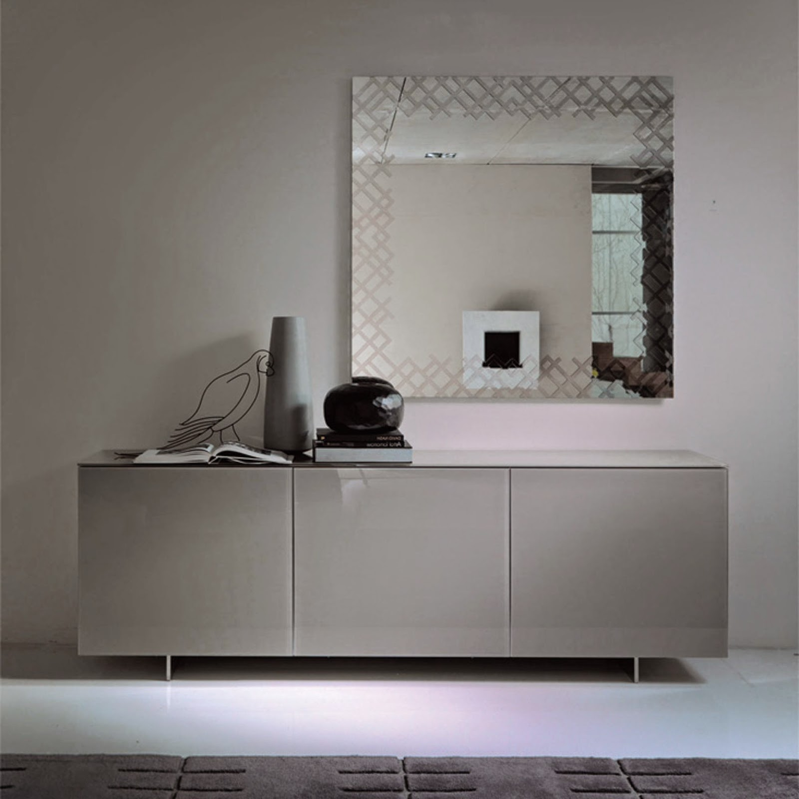 sideboard futura cattelan italia italian furniture. Black Bedroom Furniture Sets. Home Design Ideas