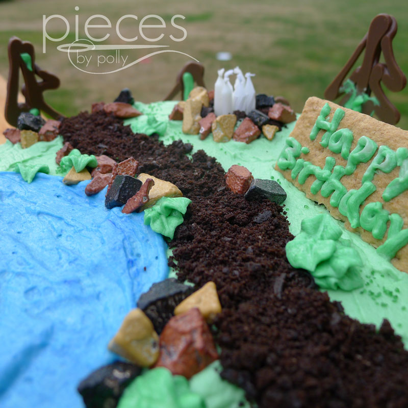 Hiking Cake: Pieces By Polly: Hiking Cake: Tips And Tricks