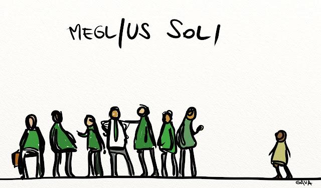 Gava gavavenezia vignette satira illustrazione caricatura illustrazioni fumetto calderoli orango kjenge letta governo razzisti vergogna