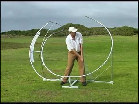 perfekt golf sving