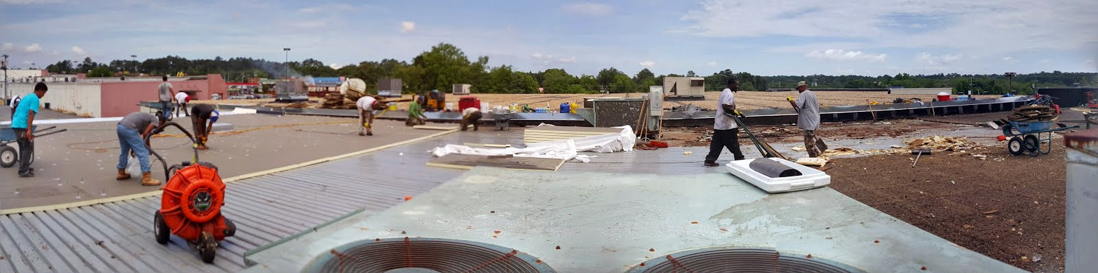 Commercial Reroof In Warner Robins