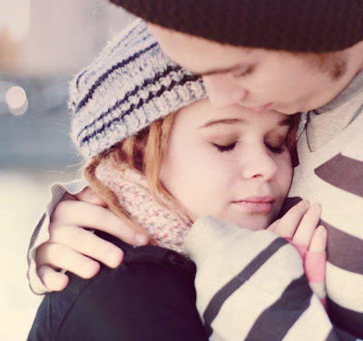 You know you are in love when you see the world in her eyes, and her eyes everywhere in the world.