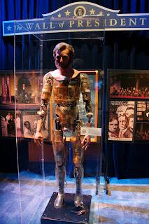 Abraham Lincoln animatrônico, feito pela empresa de Walt Disney para a Feira Mundial