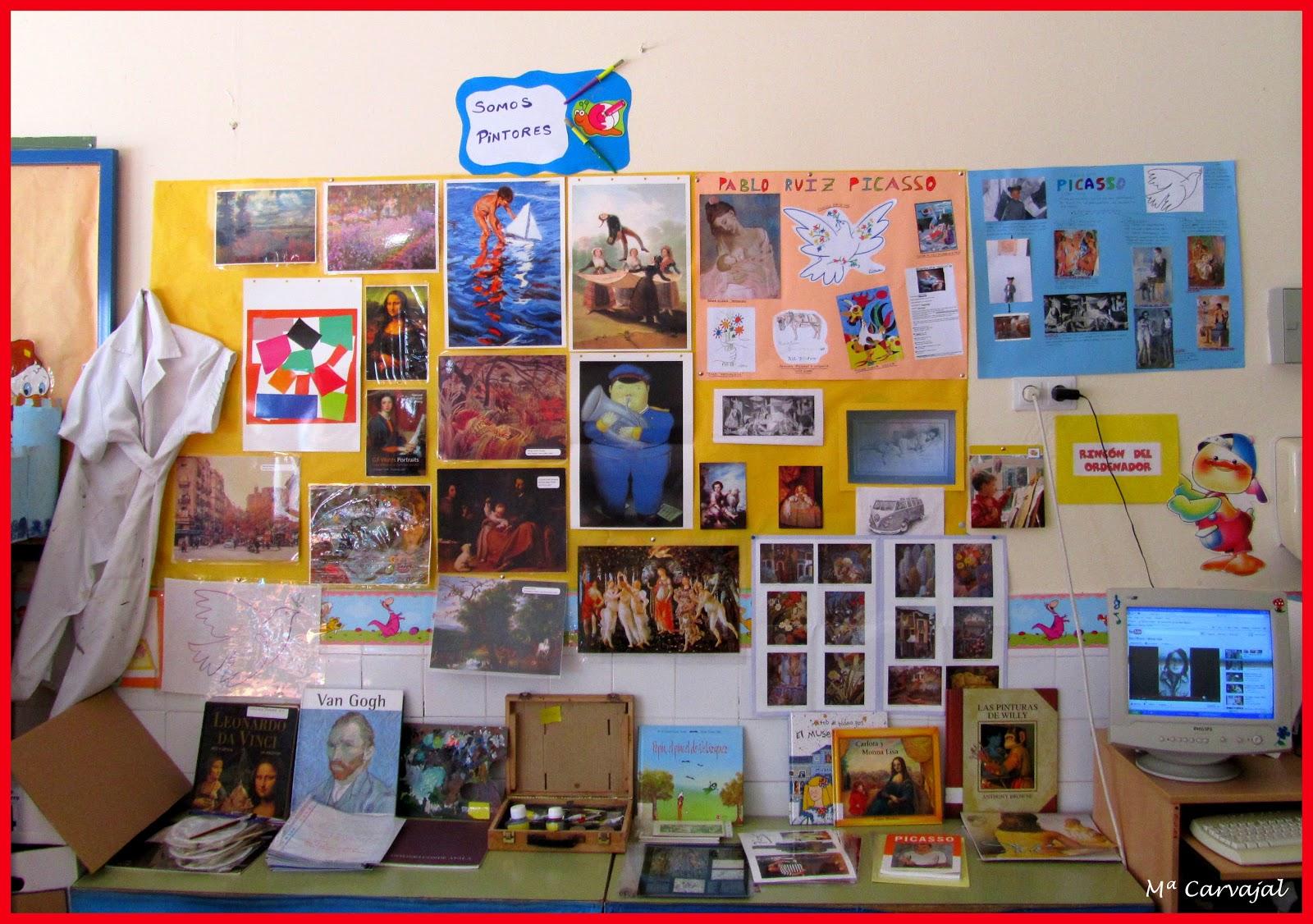 Yo aprendo t aprendes proyecto de trabajo somos pintores for Trabajo para pintores