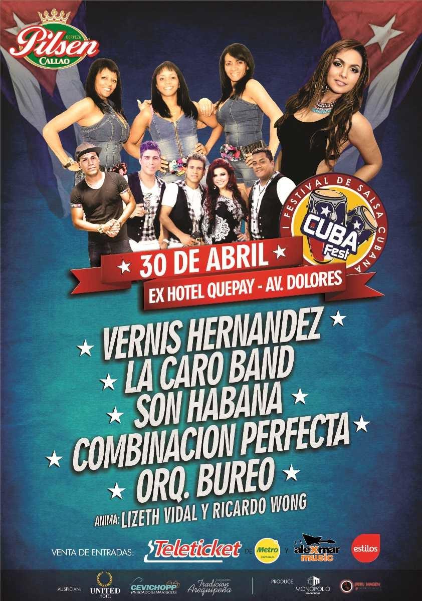 I festival de salsa cubana arequipa