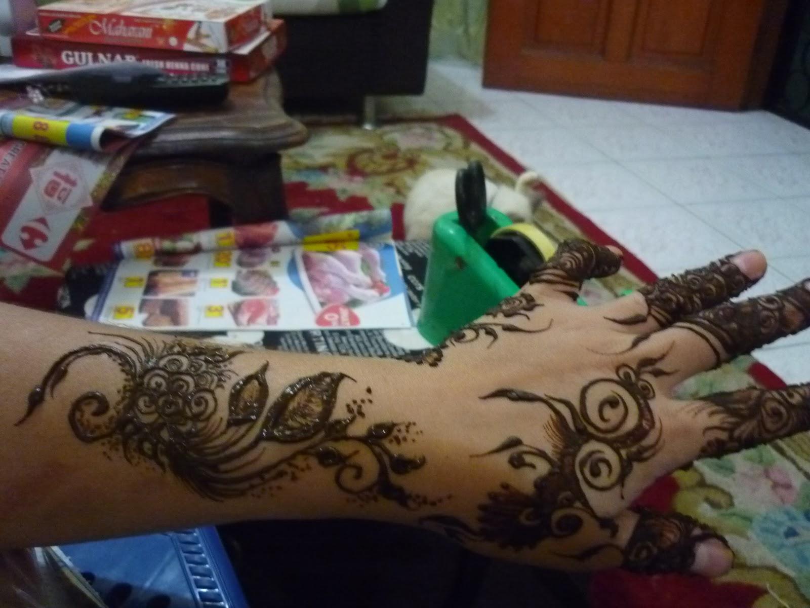 PERKHIDMATAN UKIRAN INAI PENGANTIN Henna Inai Arabic Henna Design