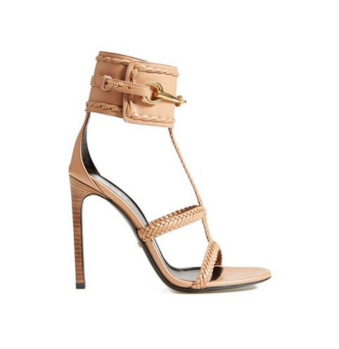 Gucci Nude Stiletto Sandals