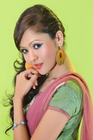 Nepali Model Saruna Khatri Sexy Cute