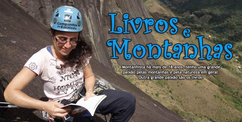 Livros e Montanha