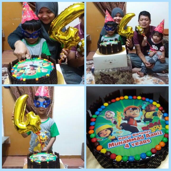Aariz 4th birthday