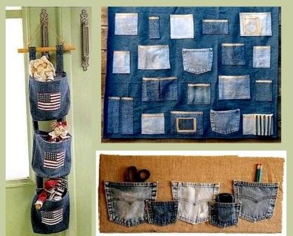 Кармашки из джинсов своими руками 58