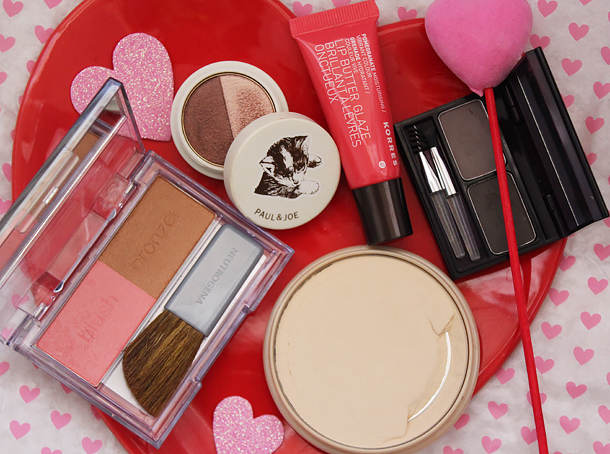 what I'm wearing fotd korres neutrogena blush custom glow rimmel stay matte