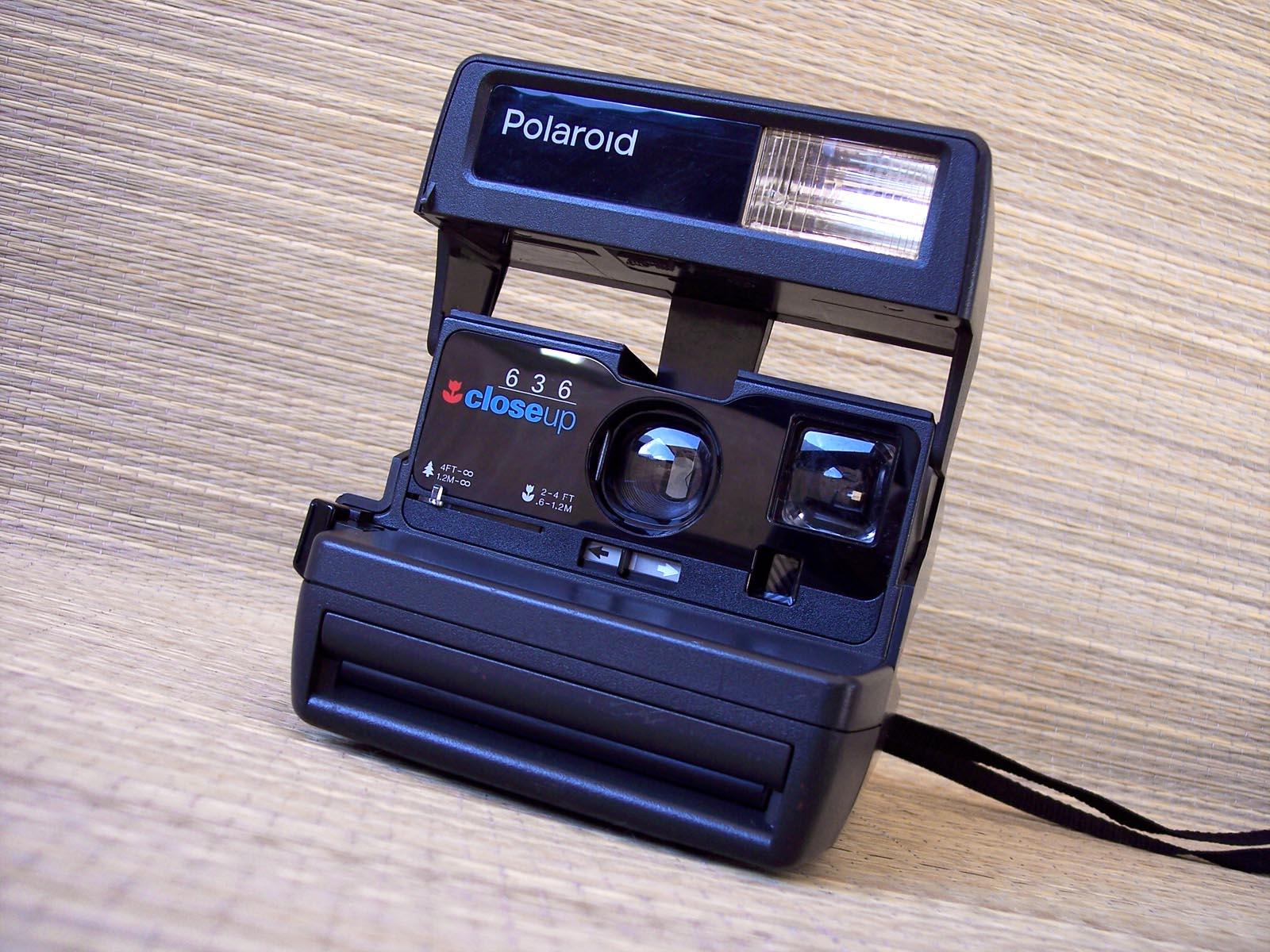 polaroid 636 autofocus macchina fotografica vintage made in u k ebay. Black Bedroom Furniture Sets. Home Design Ideas
