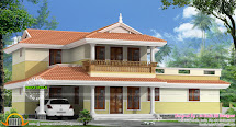 2175 Sq-ft Typical Kerala Model Home Design