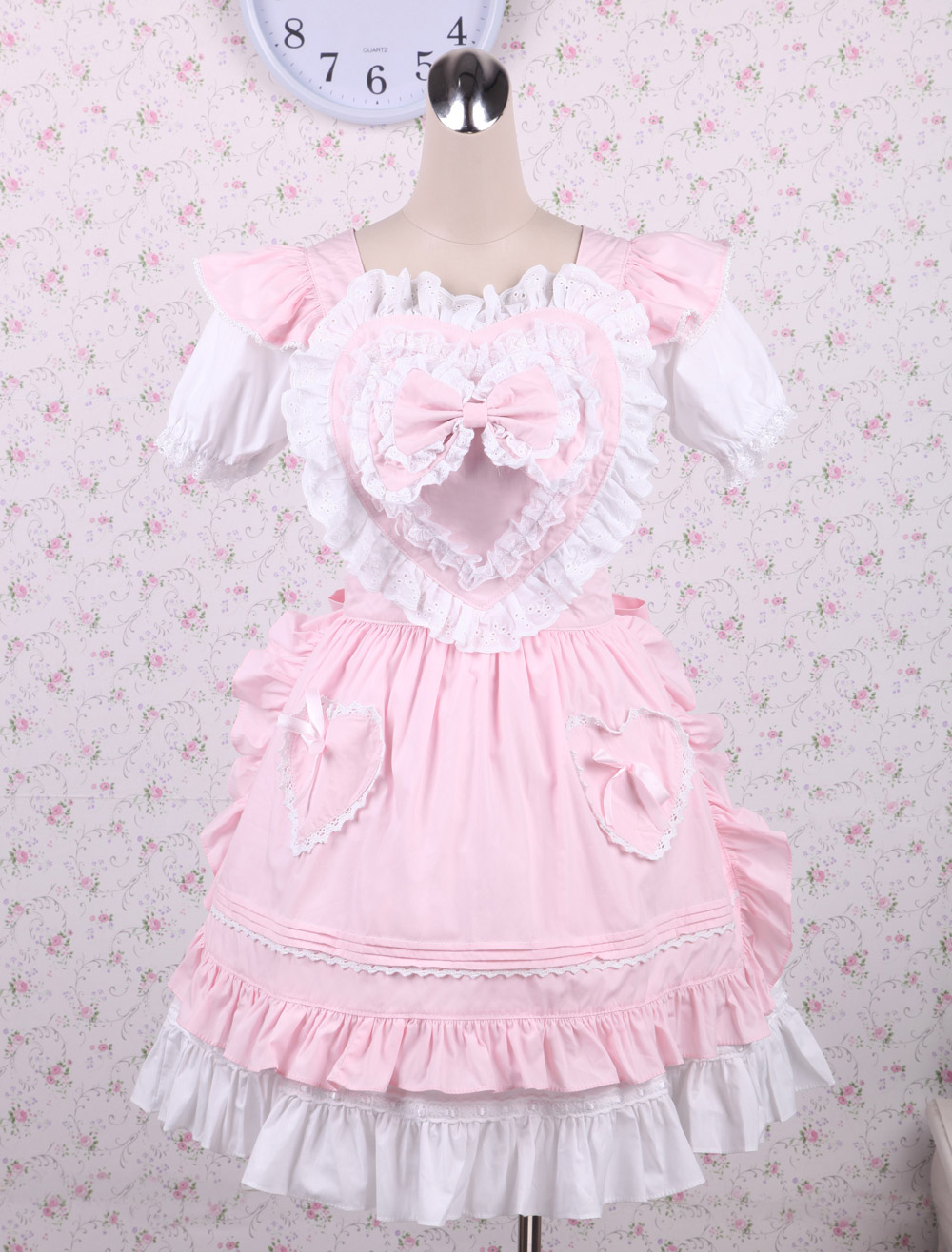Pink Ruffle Sweet Lolita Dress