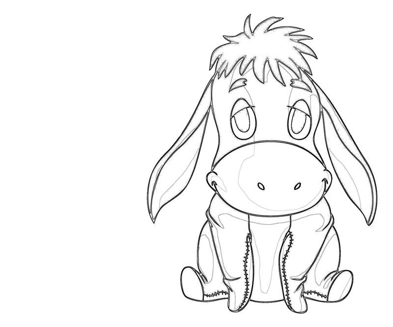 another eeyore coloring pages