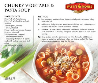 In en om die huis: Chunky Vegetable & Pasta Soup