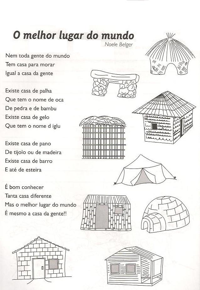 Moradias      Ptax Dyndns   Atividade De Geografia 2o Ano Moradia