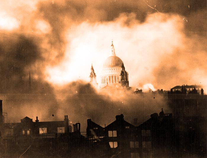 London Blitz, January 1940, churches destroyed, BT bad customer service