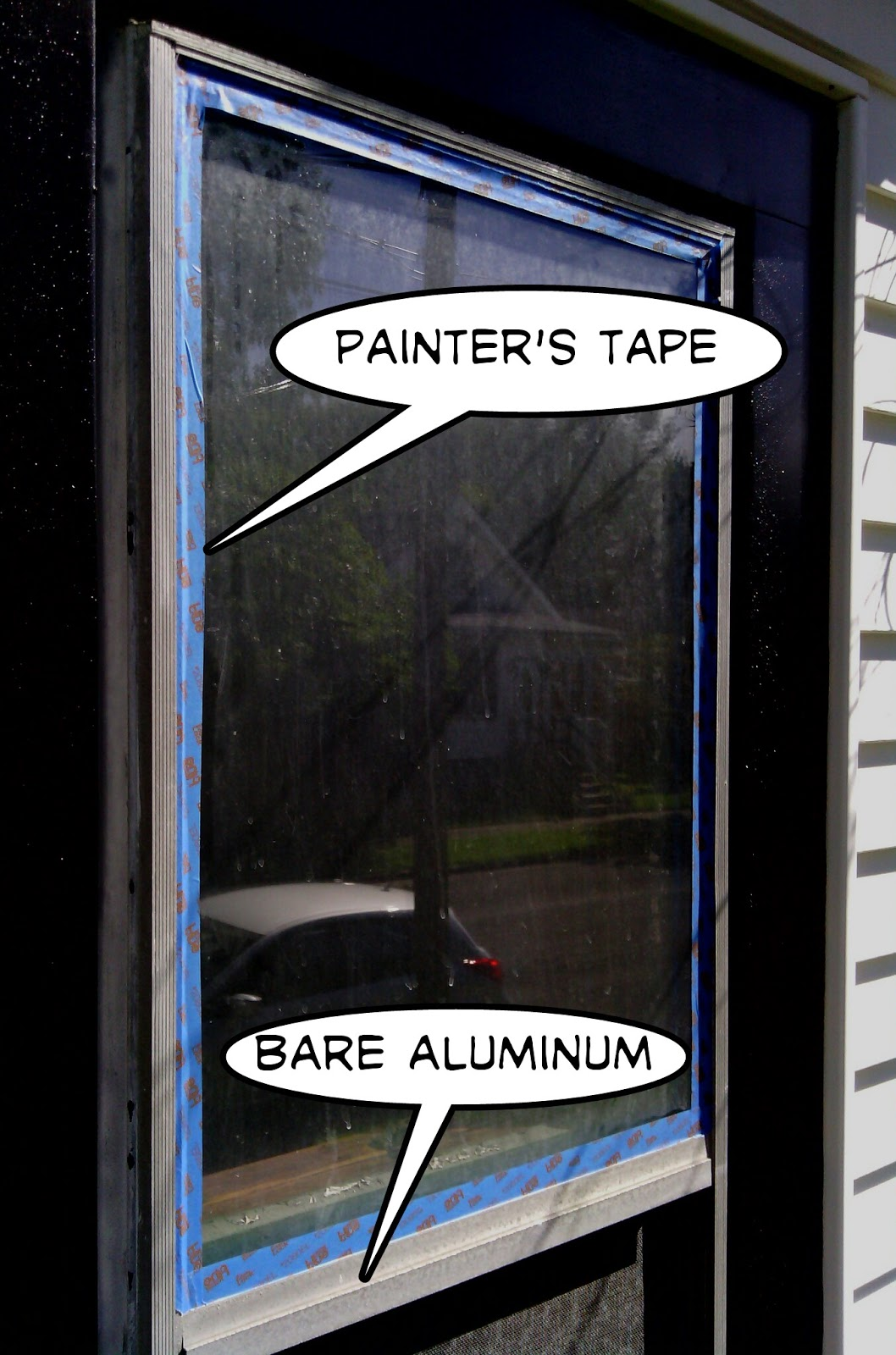 Window Frames Paint Aluminum Window Frames