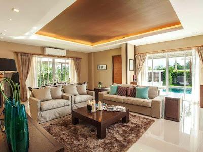 living room in Pattaya jomtien