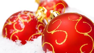Glasschmuck Weihnachten