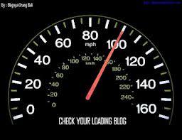 cek kecepatan loading blog atau website