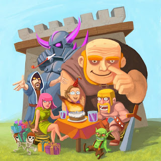 Clash Of Clans Mod/Hack Apk Update Oktober 2015