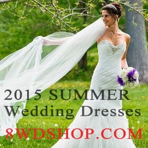 2015 Summer Wedding Dresses