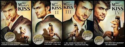 Promo + Giveaway – Her Master's Kiss series by Vivien Sparx