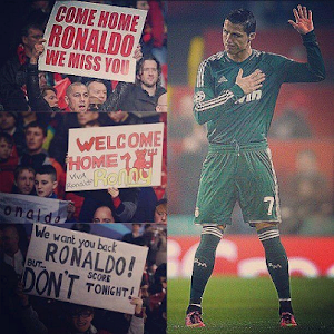 Cristiano Ronaldo at Old Trafford
