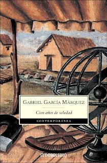Portada de cien años de soledad de Garcia Marquez epub y pdf