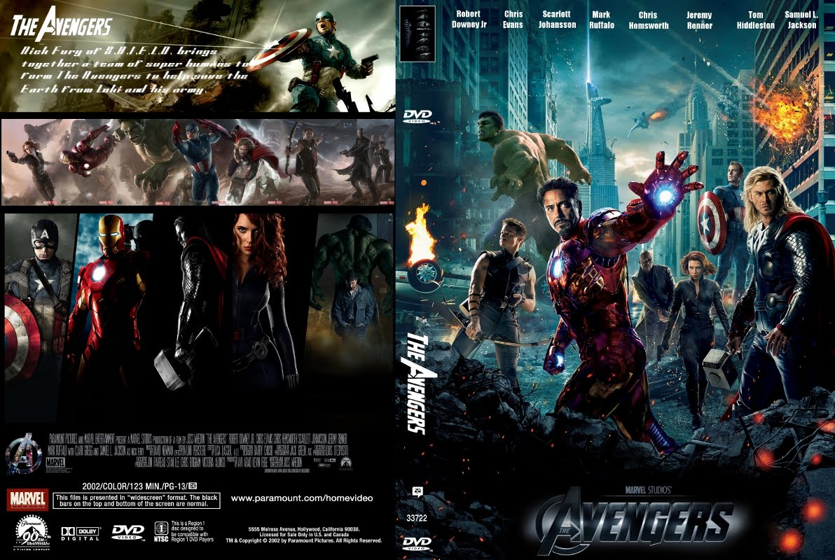 The Avengers: DVD COVERS AND LABELS: The Avengers