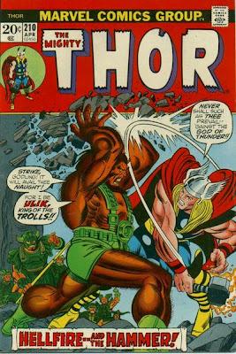 Thor #210, Ulik