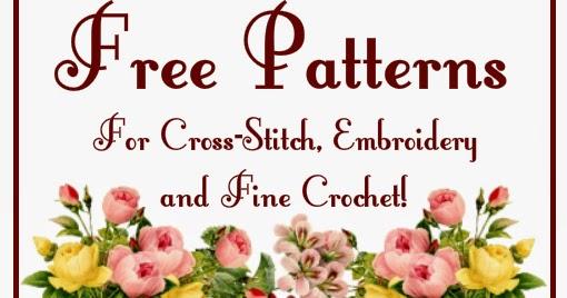 Eglantine Stitchery Free Patterns