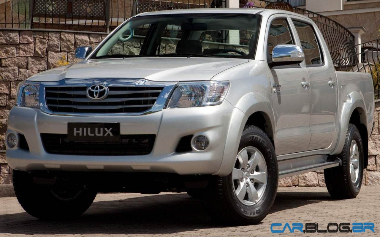 Toyota Hilux 2.7 VVT-i Flex: 5,0 Km/l de álcool
