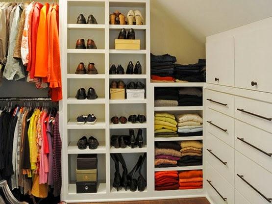 desain ruang wardrobe