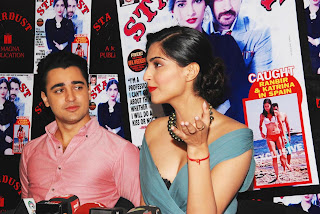Sonam Kapoor and Imran Khan Launches Stardust Magazine (3).JPG