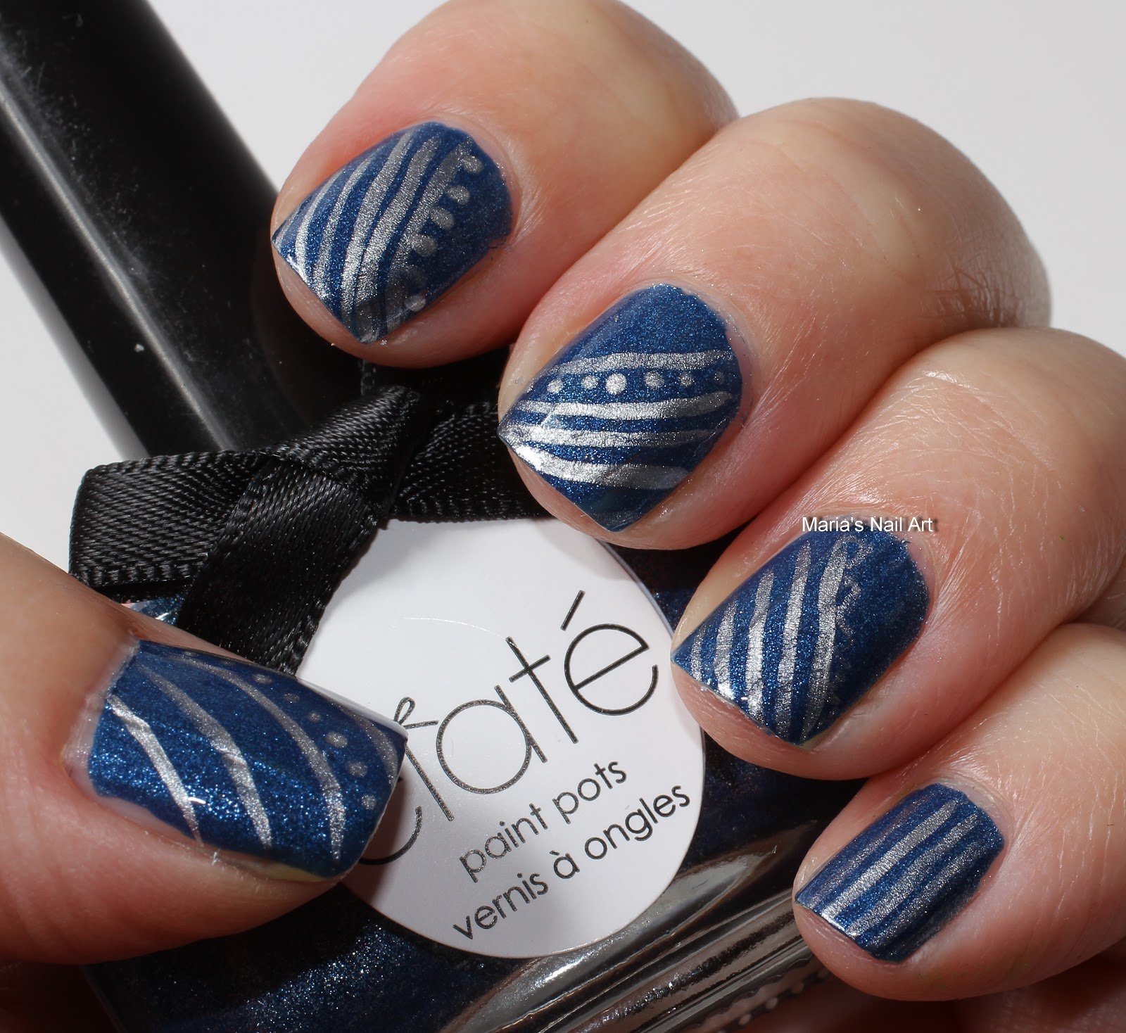 Marias Nail Art And Polish Blog Flushed With Stripes And: Marias Nail Art And Polish Blog: November 2012