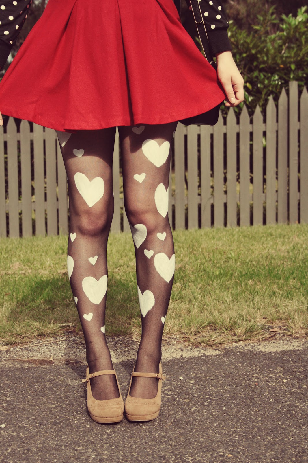 heart tights diy