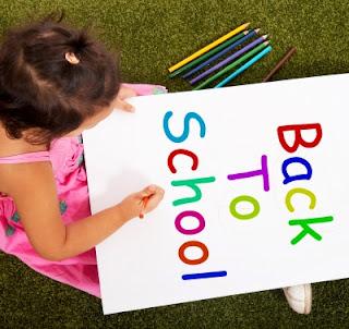niña vuelta al cole, back to school