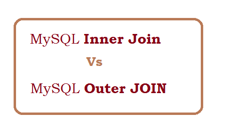 Difference between inner join and outer join in MySQL