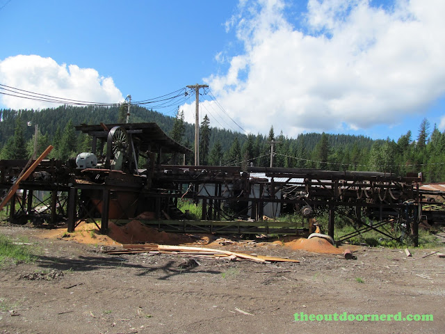 Outlet Campgrounds At Priest Lake, Idaho: Old Saw Mill 2