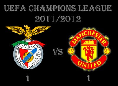 Benfica vs Manchester United Result Champions League