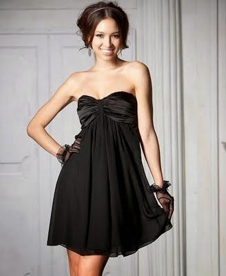 El Vestido Negro corto