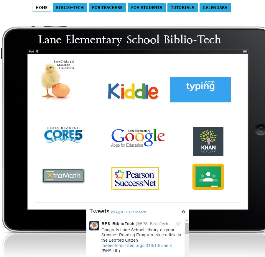 LANE BIBLIO-TECH SITE