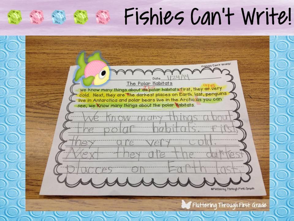 descriptive writing first grade