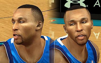 NBA 2K13 Shawn Marion Cyberface Mod