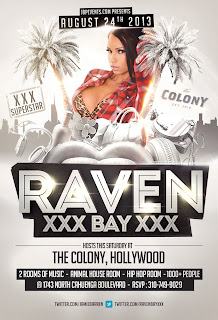 """Adult Star Raven Bay Hosts Colony Nightclub"""