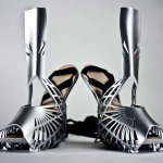 Heavy metal shoes of steel